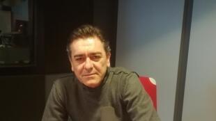 L'écrivain français Sébastien Raizer en studio à RFI (février 2019)