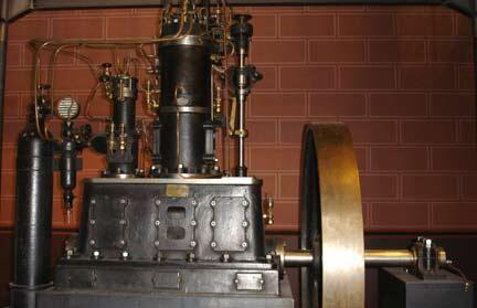 O primeiro motor a diesel produzido na França.