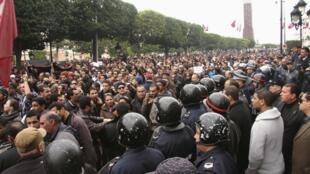 نا آرامی های تونس