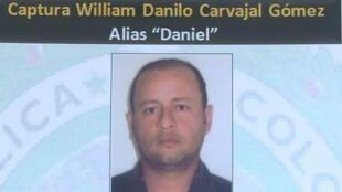 """Carvajal también conocido por el alias de """"Daniel"""", dirigía el Frente Sur  de esas milicias de ultraderecha y está acusado de homicidio, desplazamiento,  actos sexuales violentos y desaparición forzada."""