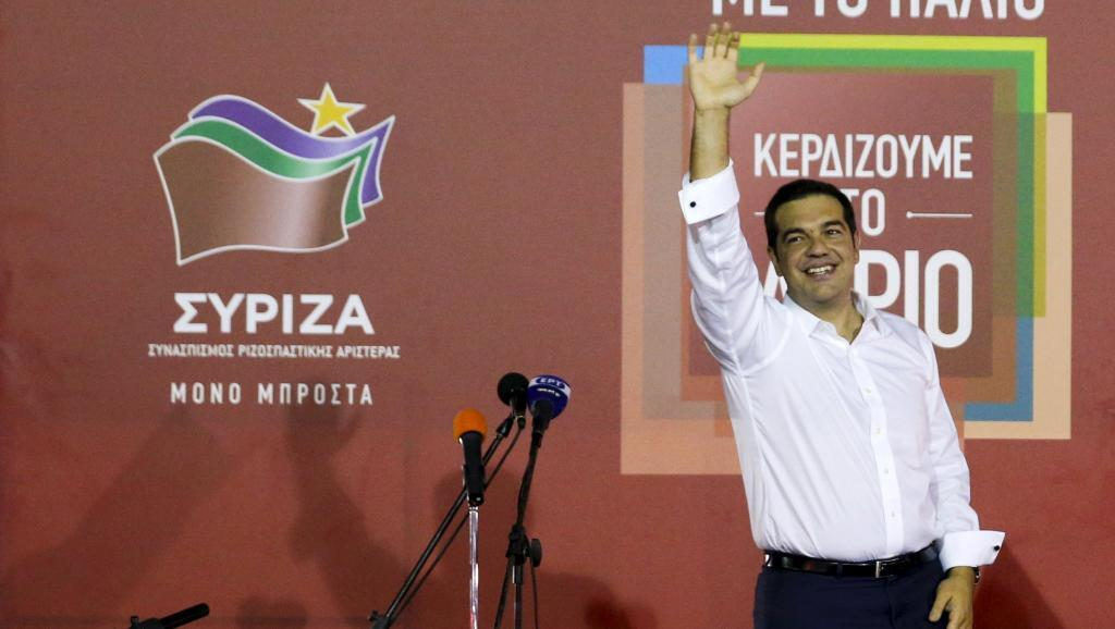 Alexis Tsipras, primeiro-minsitro grego
