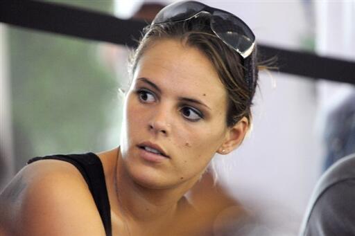 A francesa Laure Manaudou.