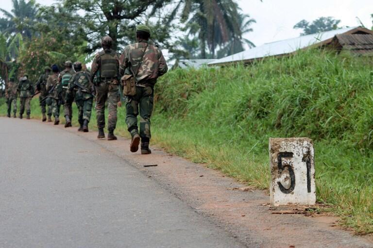 Des soldats de l'armée de la RDC en patrouille dans la région d'Eringeti (photo d'illustration).
