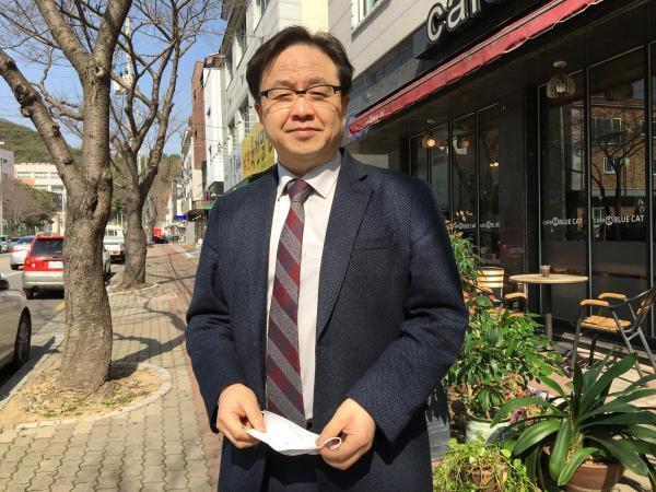 Ji-il Tark, professeur de religion à l'Université Presbytérienne de Busan en Corée du Sud.
