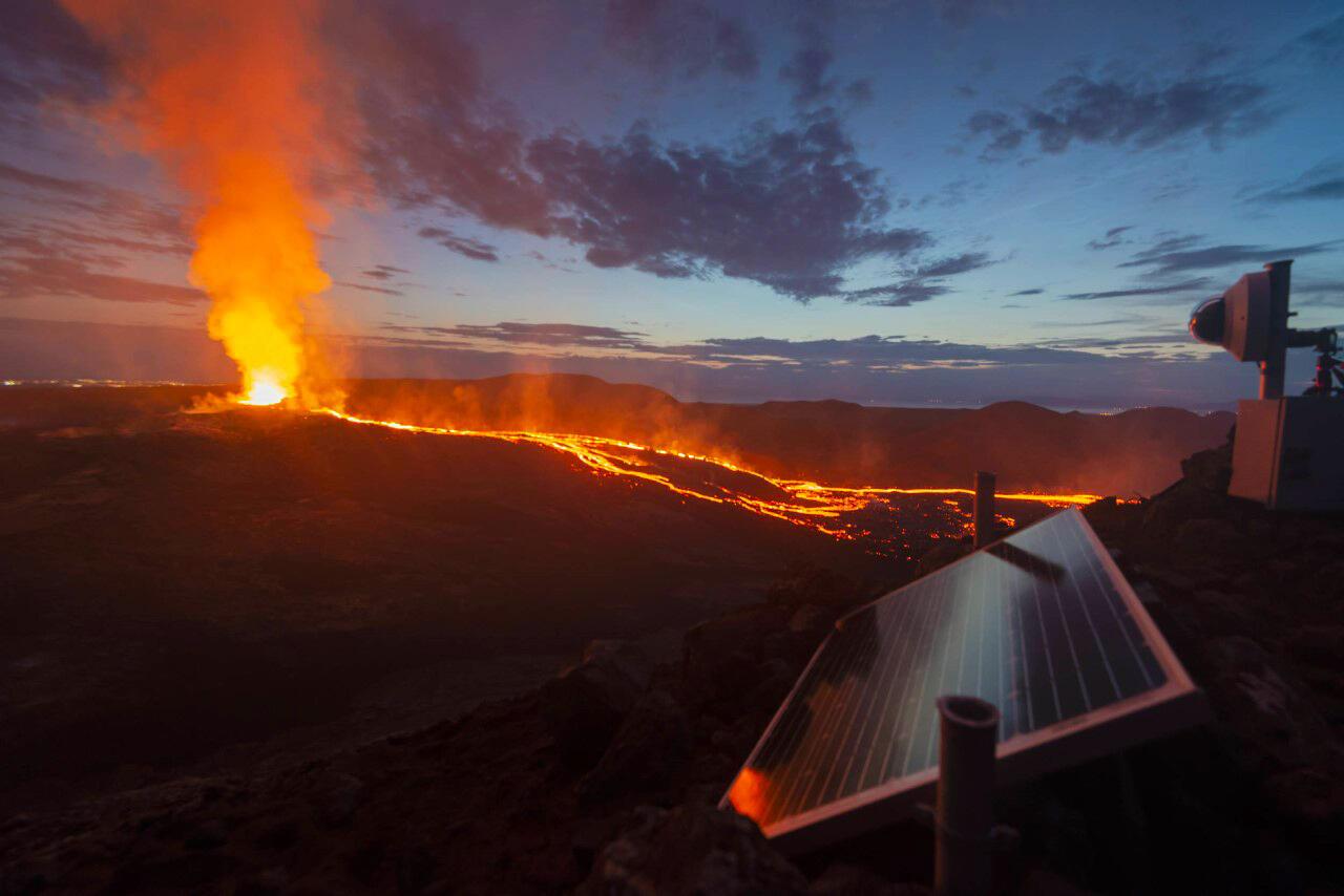 Volcan-islande-Fagradalsfall