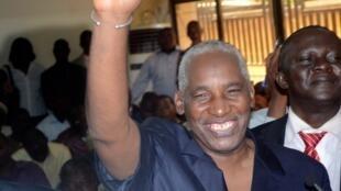 Bakary Fofana juste après son élection, le 1er novembre 2012 à Conakry.