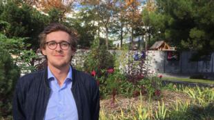 Nicolas Desgrais, doctorant à l'université du Kent.