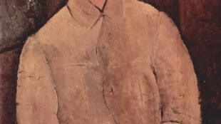 Le portrait de Soutine par Modigliani.