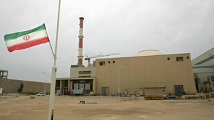 A file picture shows Iran's nuclear power plant in the southern Iranian port town of Bushehr