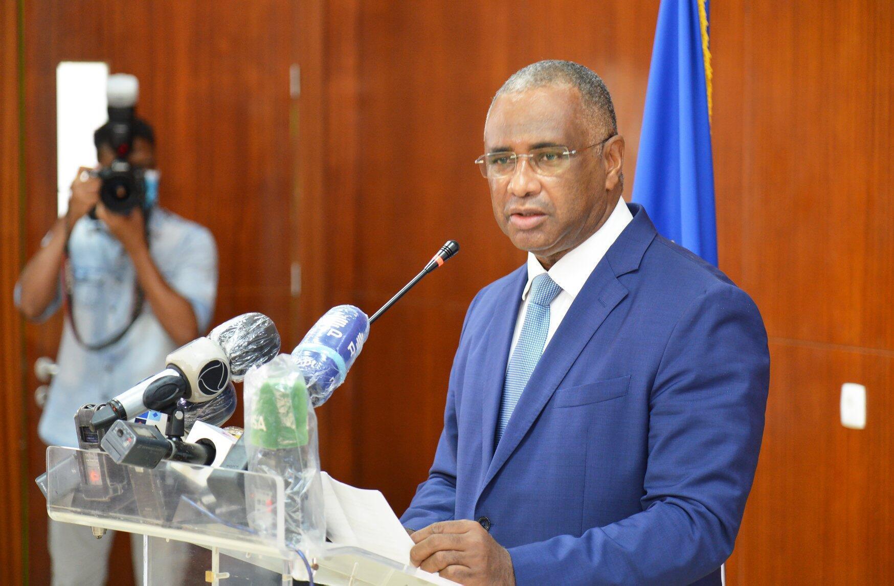 Óscar Santos, governador do Banco de Cabo Verde