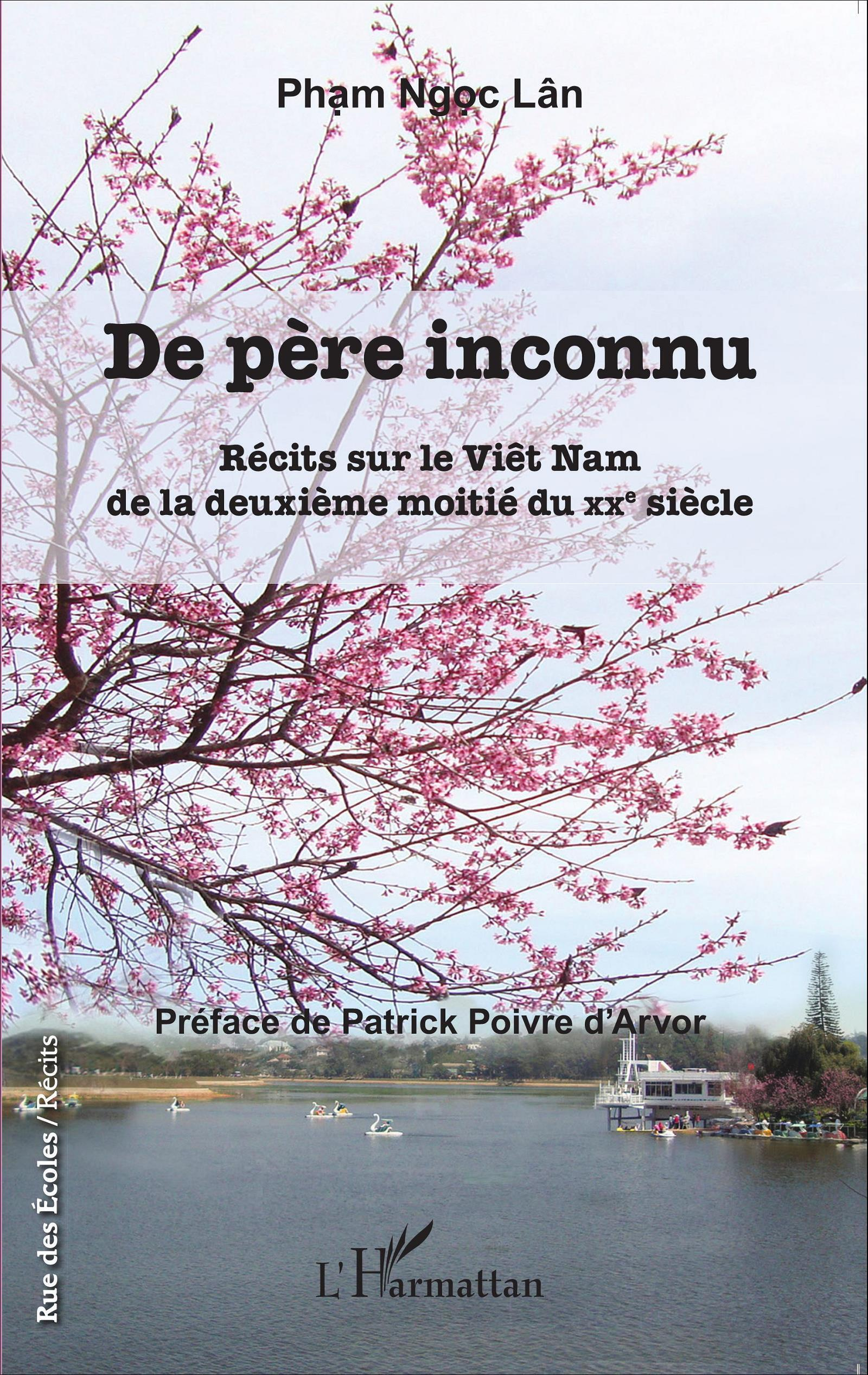 "Bìa sách ""De père inconnu"", NXB L'Harmattan"