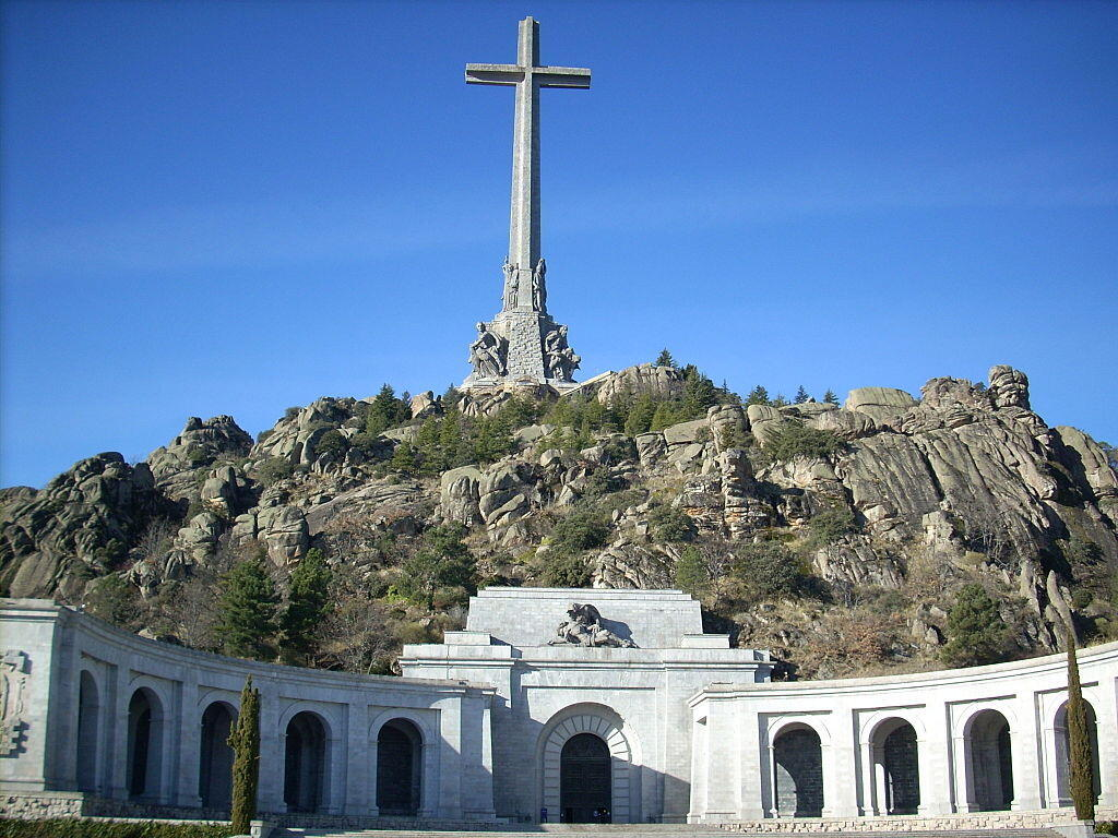 Valle de los Caidos, where Spanish dictator Francisco Franco is buried, was built using slave labour during the Franco era