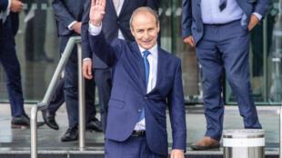 Micheál Martin, nouveau premier ministre irlandais.