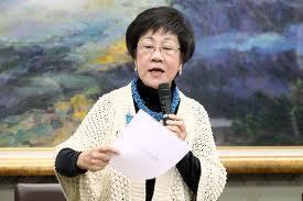 台灣前副總統呂秀蓮。