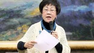 台湾前副总统吕秀莲。