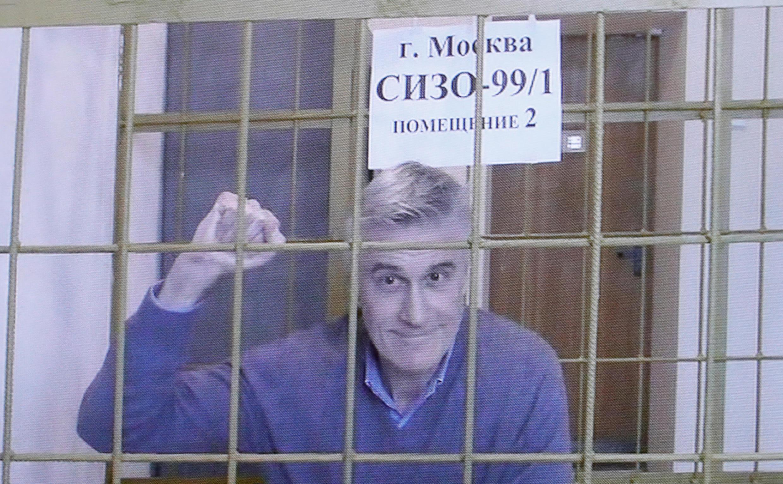 Американский инвестор Майл Калви останется в московском СИЗО как минимум до 13 апреля. На фото: Калви слушает решение суда 28 февраля 2019