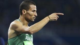 L'Algérien Taoufik Makhloufi a remporté une médaille d'or aux JO de Londres en 2012 et deux médailles d'argent aux JO de Rio en 2016.