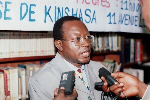 Mwanaharakati wa haki za binadamu Floribert Chebeya, ambaye mwili wake ulipatikana kwenye gari huko Kinshasa, DRC mwaka 2010.