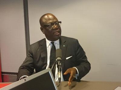 Tryphon Kin-Kiey Mulumba, ministre chargé des Relations avec le parlement (RDC)