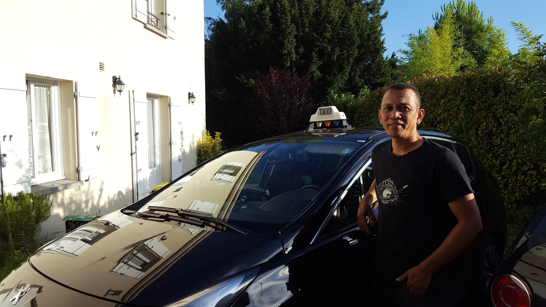 Eric Rama, chauffeur de taxi d'origine malgache et fin cuisinier !