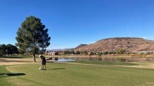 États-Unis - Colorado - Terrain de golf