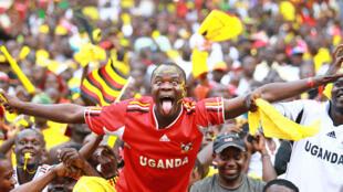 Mashabiki wa Uganda, ambao timu yao imefanikiwa kukata tiketi ya kucheza kombe la mataifa ya Afrika kule Gabon mwaka ujao.