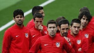 O Atlético de Madri joga em casa esta noite (22) contra o Chelsea na primeira semifinal da Liga dos Campeões.