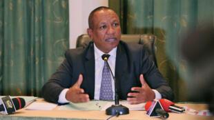 Le Premier ministre Christian Ntsay en 2018.