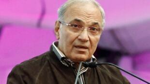 L'ancien Premier ministre égyptien Ahmed Chafik, le 20 janvier, au Caire.