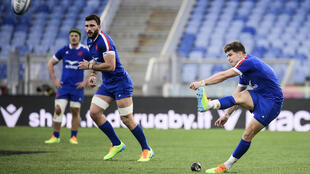 Matthieu Jalibert has started both of France's Six Nations games this season
