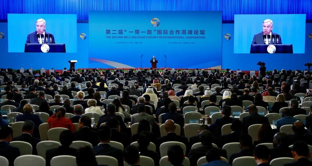 聯合國秘書長古特雷斯在一帶一路論壇強調綠色經濟是未來。