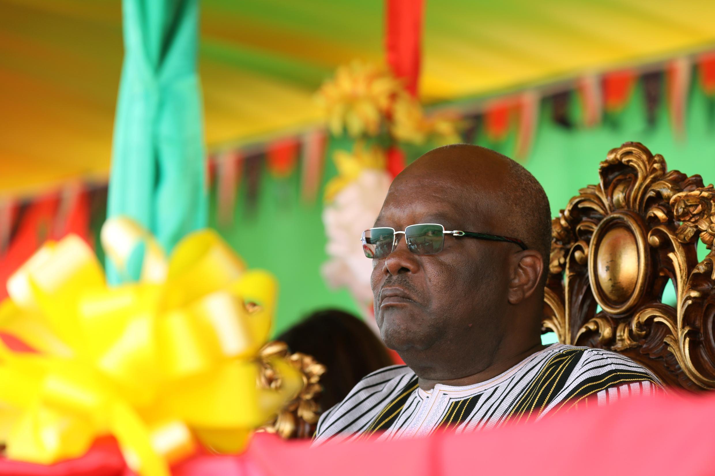 Le président du Burkina Faso Roch Marc Christian Kaboré.