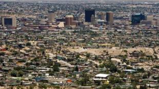 Ciudad Juárez, située à la frontière entre le Mexique et les Etats-Unis