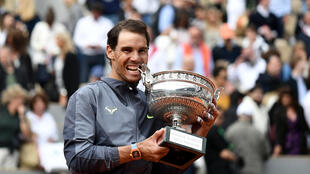 Rafael Nadal won a record extending 12th men's singles title at the 2019 French Open.
