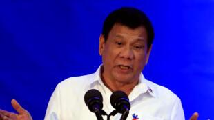 Rodrigo Duterte ganó ampliamente las elecciones en mayo de 2016 tras una campaña centrada en la seguridad.