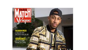 Couverture Paris Match Afrique, novembre 2017.