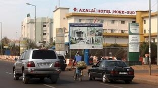 L'hôtel Nord-Sud de Bamako abrite le QG de l'UE au Mali.