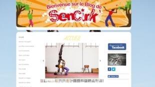Le cirque sénégalais Sencirk vient en aide aux jeunes sénégalais défavorisés.