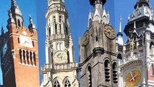 法國和比利時古老城市塔樓 (Beffrois de Belgique et de France)
