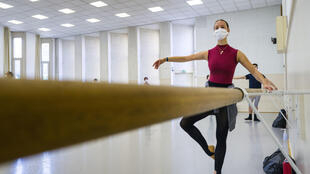 With an easing of France's strict coronavirus lockdown, the ballet performers of the Opera National du Rhin have resumed practice while observing strict infection-busting measures