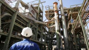 Le site industriel de la Cominak, au Niger.