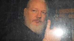Julian Assange, le 11 avril 2019 (image d'illustration).