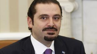 Saad Hariri a appris la chute de son cabinet à la Maison Blanche à Washington, le 12 janvier 2011.