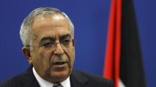 Salam Fayyad pediu demissão do cargo de primeiro-ministro palestino neste sábado.