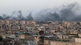 阿勒頗敘利亞反對派控制區遭受恐襲,2016年12月1日