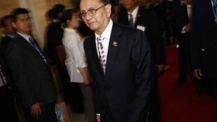 Президент Бирмы Тейн Сейн (архив)