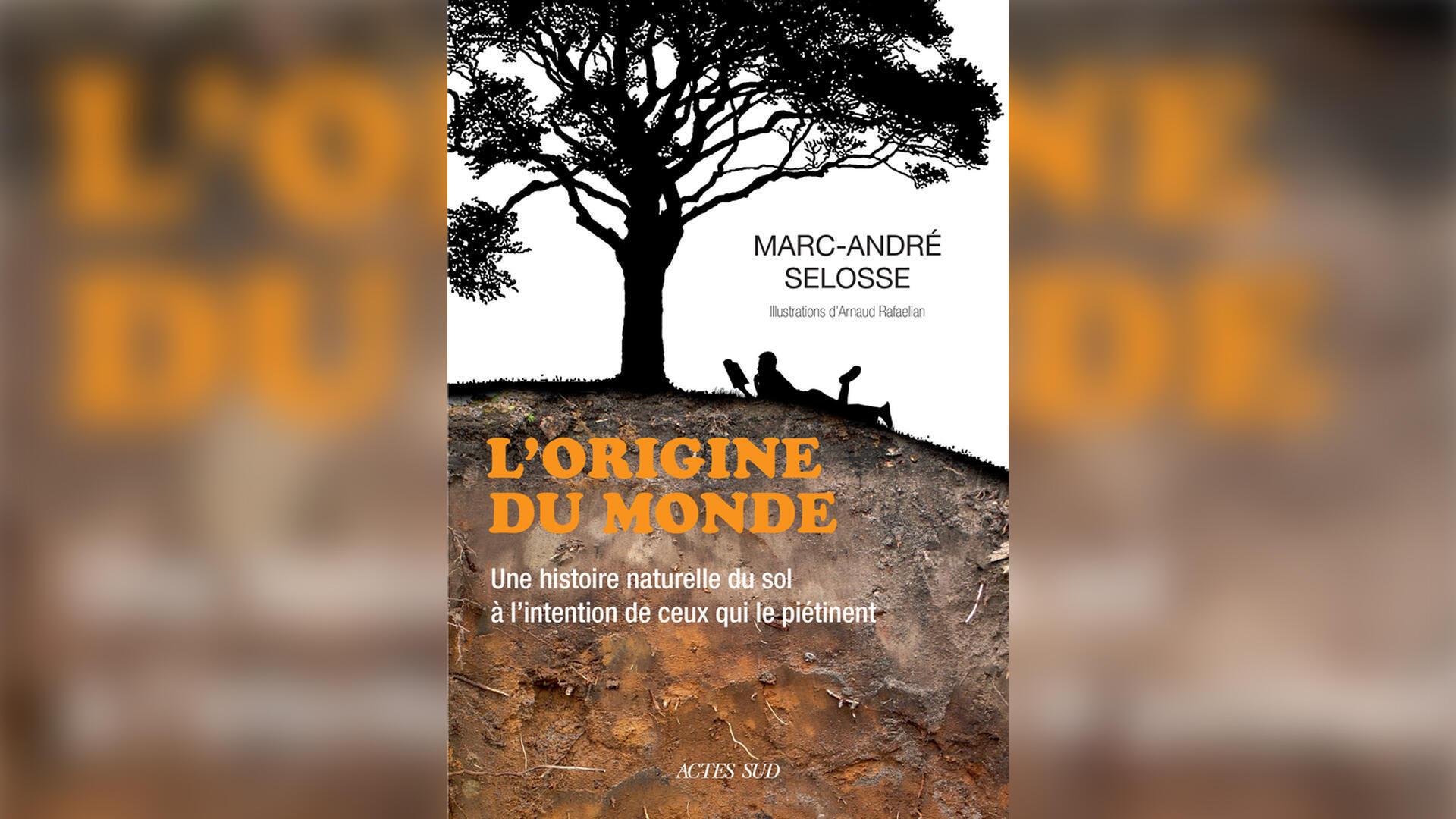 couverture L'origine du monde, une histoire naturelle du sol à l'intention de ceux qui le piétinent - Marc-André Selosse
