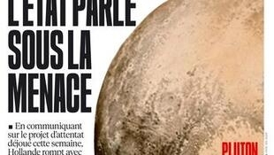 Capa do jornal Libération desta sexta-feira, dia 17 de julho.
