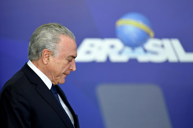 巴西前总统特梅尔今天2019年5月9日恐再因贪腐嫌疑遭监禁