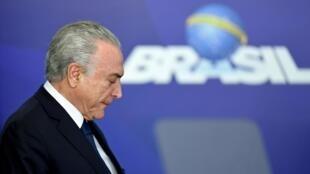 L'ancien président brésilien, Michel Temer.